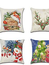 お買い得  -1ピースクリスマスカーベルクッションカバー装飾枕カバーhousse de coussin