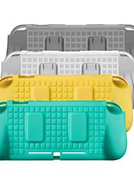Недорогие -Защитный чехол для игрового контроллера Nintendo Switch, новый дизайн Защитный чехол для игрового контроллера ТПУ 1 шт.
