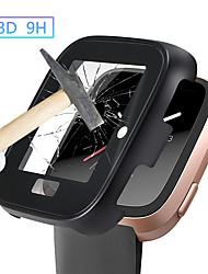 Недорогие -защитный кожух для корпуса fitbit banda metal3d закаленное стекло fit bit versa аксессуары для часов экран защитный чехол