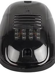 Недорогие -дымчатая черная крышка 12 светодиодов на крыше кабины габаритный фонарь для габаритных огней для dodge ram