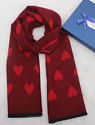 Недорогие -Жен. Классический Прямоугольный платок Цветочный принт / Контрастных цветов