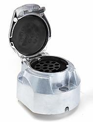 Недорогие -13-контактный сплав электрического освещения eu буксировочная вилка адаптер розетка 12 В прицеп