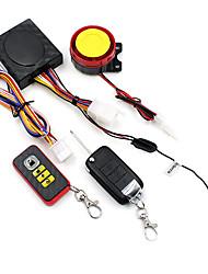Недорогие -мотоцикл беспроводная интеллектуальная охранная сигнализация со складным ключом дистанционного управления сигнализация столкновения