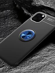 Недорогие -магнитный автомобильный держатель кольца luxurry мягкий силиконовый чехол для iphone 11 pro / iphone 11 / iphone 11 pro max противоударный чехол для iphone xs max xr xs x 8 плюс 8 7 плюс 7 6 плюс 6