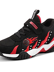 Недорогие -Мальчики Удобная обувь Полиуретан Спортивная обувь Большие дети (7 лет +) Для баскетбола Черный / Красный / Синий Осень
