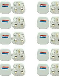 Недорогие -20pcs Аксессуары для ламп / Газонокосилка / UK ABS + PC Электрическая вилка для RGB LED Strip Light / для DIY Plant Flower Seeding light / для светодиодной полосы света