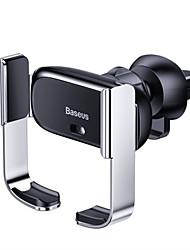 Недорогие -Baseus электрический автомобиль держатель телефона вентиляционная подставка интеллектуальный сенсорный датчик стенд для мобильного телефона