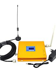 Недорогие -полоса 5/3 усилитель сигнала сотового телефона 850 МГц CDMA 1800 МГц DC мобильный телефон 2 г 4 г усилитель-повторитель сигнала с всенаправленной антенной