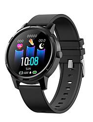 billige -x20 smartwatch bt fitness tracker support varsle / blodtrykksmåling sports smartklokke for samsung / iphone / android telefoner