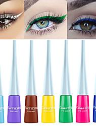 Недорогие -cmaadu 12 цвет матовый подводка для глаз водонепроницаемый длительный жидкость для век тени без головокружительной краски для глаз макияж