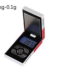 billige -gull sigarett tilfelle skala bærbar anti-friksjon elektronisk kjøkken skala digital smykker skala digital kaffeskala for kontor og undervisning hjem livet kjøkken daglig