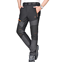 Men's Softshell Outdoor Windproof Thermal Breathable Hiking Pants (XL XXL XXXL) (Multiple Color)