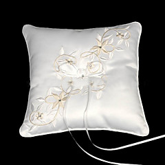 Fairy Tale Dreams Square Satin Wedding Ring Bearer Pillow Wedding Ceremony