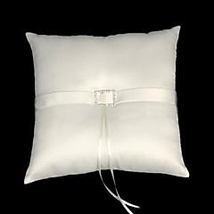 Lovely Satin Wedding Ring Bearer Pillow