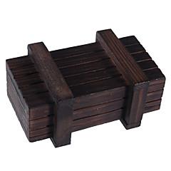 Magische Holzbox mit Geheimfach