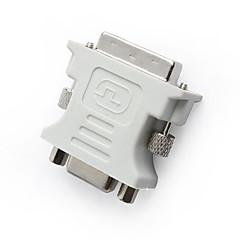 baratos -DVI-I macho para VGA fêmea