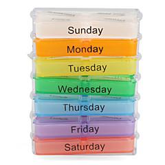 7-dages plast pille kasse
