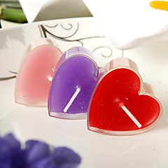 Heart Design Small Candle(set of 6)