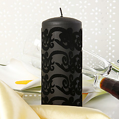 Garden Theme Candle Favors Piece/Set Candles Non-personalised Black