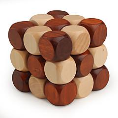 Rubikova kostka Hladký Speed Cube 3*3*3 Rychlost profesionální úroveň Magické kostky Dřevo Nový rok Vánoce Den dětí Dárek