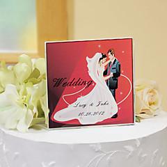 billige Kakedekorasjoner-kake toppers personlig krystall kake topper - romantisk rød