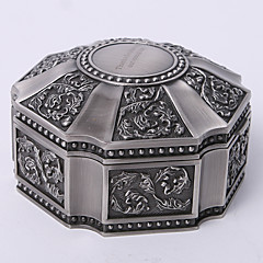 cheap Bridesmaid Gifts-Gifts Bridesmaid Gift Personalized Vintage Tutania Hexagon Jewelry Box