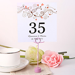 cheap Place Cards & Holders-Place Cards and Holders Personalized Square Table Number Card - Branch (Set fo 10)