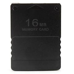 Χαμηλού Κόστους Αξεσουάρ PS2-16MB κάρτα μνήμης για PS2 (μαύρο)