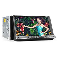 billiga DVD-spelare till bilen-7 tum 2 Din Windows CE 6.0 / Windows CE In-Dash DVD-spelare Inbyggd Bluetooth / GPS / iPod för Stöd / RDS / Rattstyrning / Subwoofer-utgång / Pekskärm / SD / USB-stöd