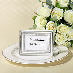 cheap Frames & Albums-Zinc Alloy Place Card Holders Frame Style Gift Box Wedding Favors