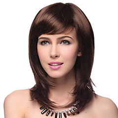 cheap Wigs & Hair Pieces-top grade quality synthetic straight brown hair wigs 5 colors to choose