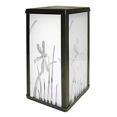 0.06W Contemporary White Glass LED Solar Garden Light