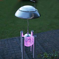 0.06W Artistieke Colour Changing Plastic LED Solar Garden Light