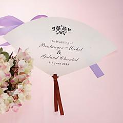baratos Leques e Sombrinhas-Ocasião Especial Material Decorações do casamento Tema Flores / Tema Clássico Primavera Verão Primavera/Outono/Inverno/Verão