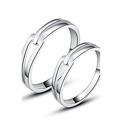 cheap Wedding Gifts-Women's Ring - Sterling Silver, Silver Stylish, Love 6 / 7 / 8 Silver For Wedding / Party / Evening