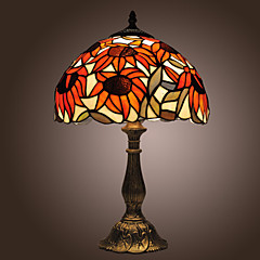hesapli Duvar Işıklar Özel-Tiffany tarzı ayçiçeği bronz kaplama masa lambası (0923-tf3)