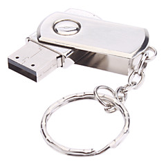 16 GB-os forgatni metal anyag mini USB flash pendrive