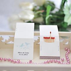 billige Bryllupsdekorasjoner-Bryllup / Fest Materiale Hardt Kortpapir Bryllupsdekorasjoner Hage Tema / Bryllup Vår Sommer Alle årstider