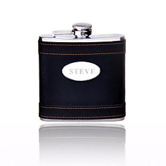 Vőlegény / Násznagy Ajándékok Darab / Set Flaska Klasszikus Esküvő / Évforduló / Születésnap Rozsamentes acél Személyre szabott Flaska