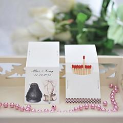 baratos Lembrancinhas Personalizadas-Festa de Casamento Cartão de Papel Duro Mistura de Material Decorações do casamento Tema Clássico Todas as Estações