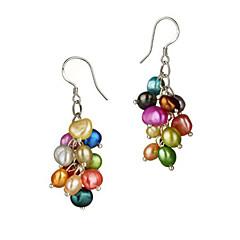 frumoase colorate perle femei cercei stil clasic feminin
