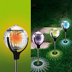 Outdoor Solar Color Changing Led drijflampen Ball Pond Pad Lawn Stake Lamp (Cis-57179)