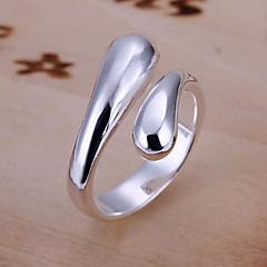 Недорогие -Кольца Для вечеринок Бижутерия Сплав / Серебрянное покрытие Классические кольцаРегулируется Золотой