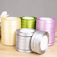 Solid Color Satin Ribbon - Set of 10 Rolls (More Colors)  Wedding Reception