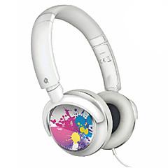 Auscultadores Over-ouvido com som baixo para Ipod (Branco)