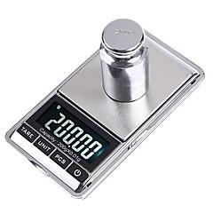 tanie Wagi-200g * 0.01g Mini Cyfrowy Biżuteria kieszonkowy Skala gram Oz Ct