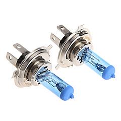 2 * h4 xenon halogeen t10 gloeilampglas kit 6000k 12v 100w voor motorfiets