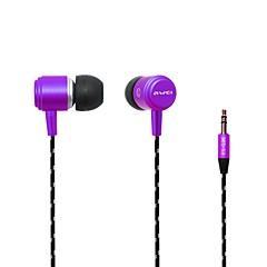 billiga Hörlurar med öronsnäckor-AWEI AWei - Q35 I öra Kabel Hörlurar Plast Mobiltelefon Hörlur Ljudisolerande headset