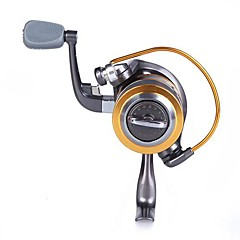 cheap Fishing Reels-Fishing Reel Spinning Reels Gear Ratio+8 Ball Bearings Exchangable Left-handed Right-handed Sea Fishing Freshwater Fishing
