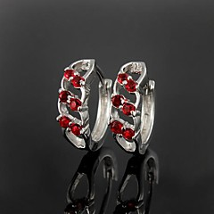 cheap Earrings-Women's Cubic Zirconia - Irregular Brass For